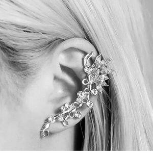 Nesryne Crystal Ear Cuff